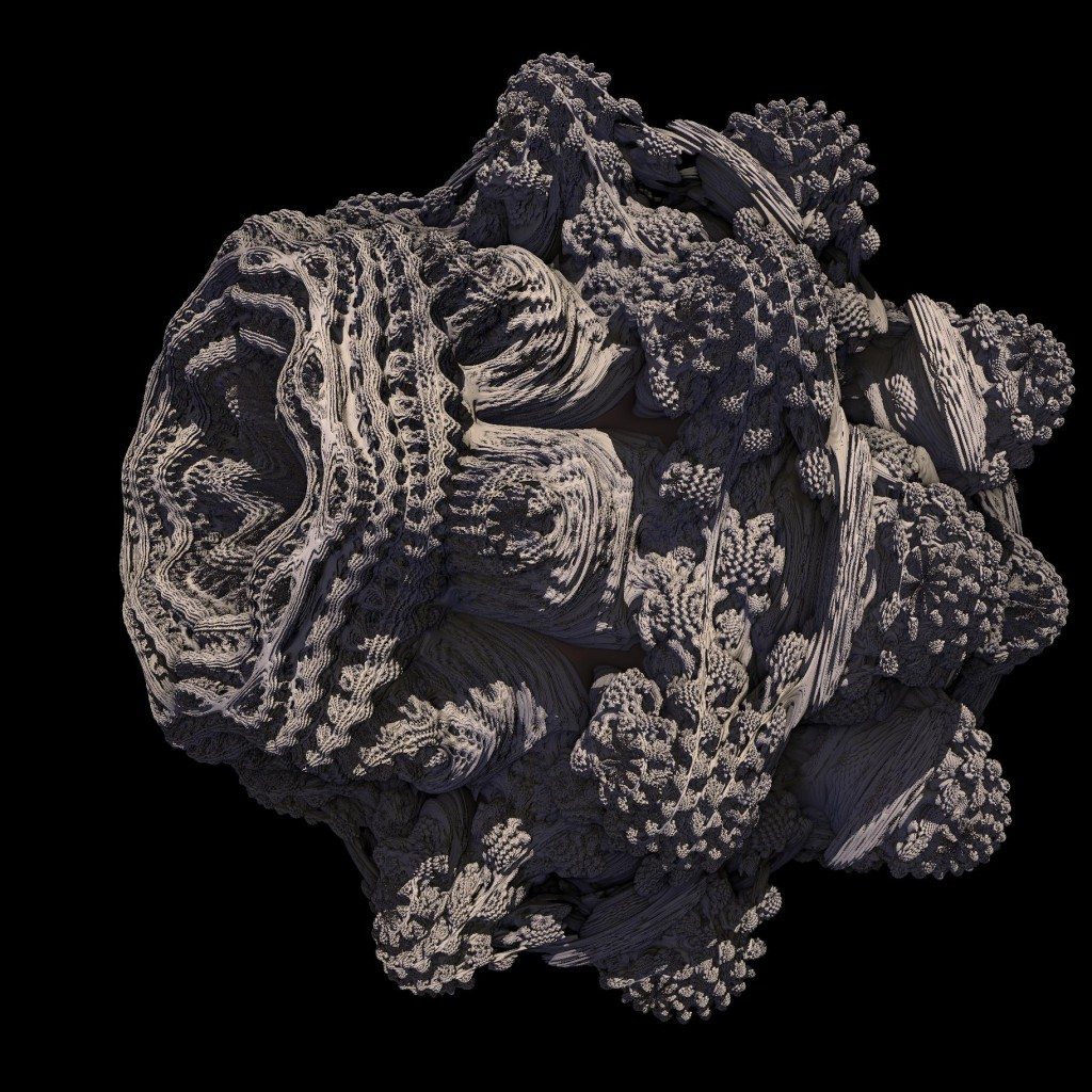 Render of a 3d Mandelbulb
